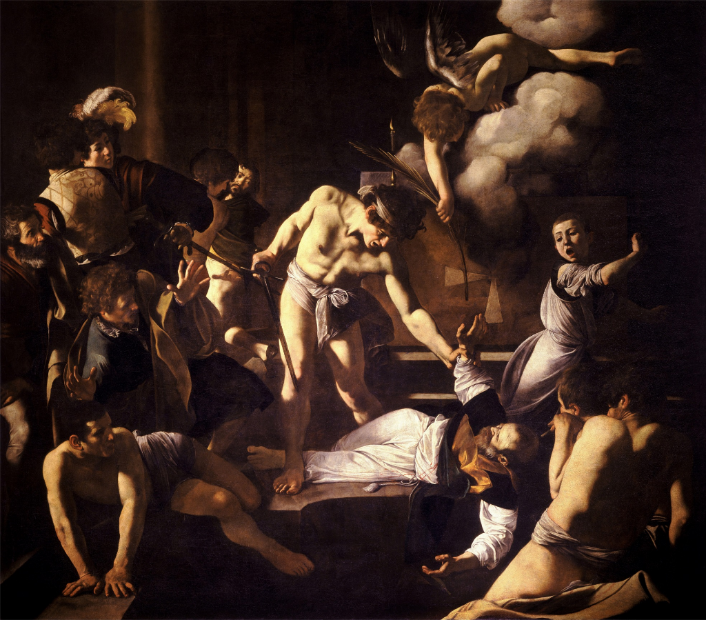 "CARAVAGGIO-AND-HIS-""MARTYRDOM-OF-ST-MATTHEW"":-AN-UNSOLVED-CASE-"
